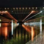 nočný most nad Drávou, Ptuj