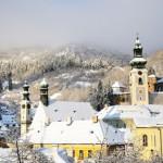 zimná Banská Štiavnica