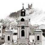 Farský kostol a Kalvária, Banská Štiavnica